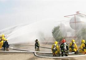 区液化气储配站演练泄漏事故应急处置